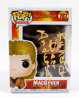 "Richard Dean Anderson Signed ""MacGyver"" #707 Funko Pop! Vinyl Figure (PSA COA) at PristineAuction.com"