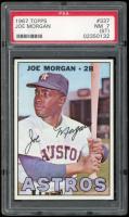 Joe Morgan 1967 Topps #337 (PSA 7) (ST) at PristineAuction.com
