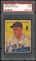 George Watkins 1934 Goudey #53 RC (PSA 3) at PristineAuction.com