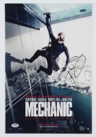 """Jason Statham Signed """"Mechanic: Resurrection"""" 11x17 Photo (PSA Hologram) at PristineAuction.com"""