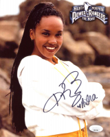 "Karan Ashley Signed ""Mighty Morphin Power Rangers"" 8x10 Photo Inscribed ""Aisha"" (JSA COA) at PristineAuction.com"