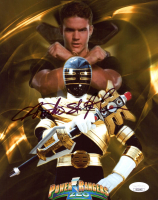 "Austin St. John Signed ""Power Rangers Zeo"" 8x10 Photo (JSA COA) at PristineAuction.com"