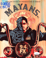 "Richard Cabral Signed ""Mayans M.C."" 8x10 Photo Inscribed ""Coco"" (JSA COA) at PristineAuction.com"