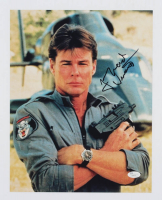 "Jan-Michael Vincent Signed ""Airwolf"" 11x14 Photo (JSA COA) at PristineAuction.com"