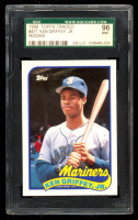 Ken Griffey Jr. 1989 Topps Traded #41T RC (SGC 9) at PristineAuction.com