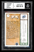 Ken Griffey Jr. 1989 Upper Deck #1 RC (BGS 8) at PristineAuction.com