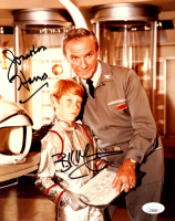 "Jonathan Harris & Bill Mumy Signed ""Lost In Space"" 8x10 Photo (JSA COA) at PristineAuction.com"