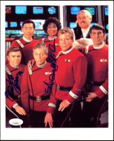 "Walter Koenig & Nichelle Nichols Signed ""Star Trek"" 8x10 Photo (JSA COA) at PristineAuction.com"