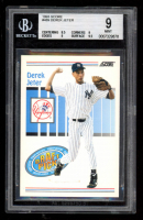 Derek Jeter 1993 Score #489 RC (BGS 9) at PristineAuction.com
