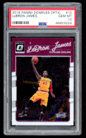 LeBron James 2016-17 Donruss Optic #15 (PSA 10) at PristineAuction.com