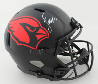 Larry Fitzgerald Signed Cardinals Full-Size Eclipse Alternate Speed Helmet (Beckett COA) at PristineAuction.com