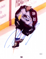 Peter Forsberg Signed Avalanche 8x10 Photo (JSA COA) at PristineAuction.com