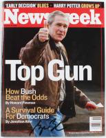 "George W. Bush Signed ""Newsweek"" Magazine (JSA ALOA) at PristineAuction.com"