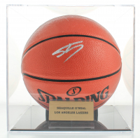 Shaquille O'Neal Signed NBA Game Ball Series Basketball With Display Case (PSA COA) at PristineAuction.com