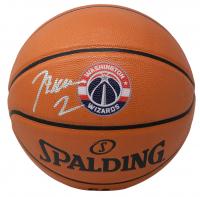 John Wall Signed Wizards Logo NBA Game Ball Series Basketball (JSA COA) at PristineAuction.com