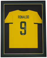 Ronaldo Signed 32x36 Custom Framed Jersey (Beckett COA) at PristineAuction.com