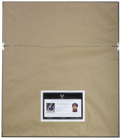 """Lionel Messi Signed 32x36 Custom Framed Jersey Display Inscribed """"Leo"""" (Messi COA) at PristineAuction.com"""