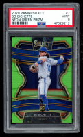 Bo Bichette 2020 Select Prizms Neon Green #7 RC (PSA 9) at PristineAuction.com