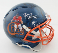 """Brian Urlacher Signed Full-Size Authentic On-Field Hydro Dipped Helmet Inscribed """"HOF 2018"""" (Beckett COA) at PristineAuction.com"""
