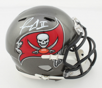 Ronald Jones Signed Buccaneers Speed Mini Helmet (Beckett COA) at PristineAuction.com