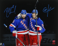 Rick Nash & Chris Kreider Signed Rangers 16x20 Photo (YSMS COA) at PristineAuction.com