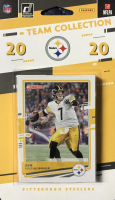 2020 Donruss Steelers Sealed Team Collection Card Set with #327 Chase Claypool Rated Rookie, #213 Ben Roethlisberger, #221 Jack Lambert, #220 T.J. Watt at PristineAuction.com