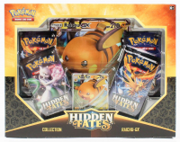 Pokemon Hidden Fates Collection Box / Raichu-GX at PristineAuction.com