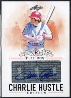 Pete Rose 2020 Leaf Charlie Hustle Certified Autograph Card #AU07 at PristineAuction.com