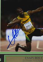 Usain Bolt Signed Team Jamaica 11x14 Custom Framed Photo Display (JSA COA) at PristineAuction.com