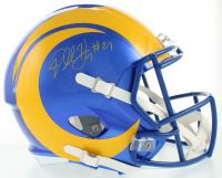 Darrell Henderson Jr. Signed Rams Full-Size Speed Helmet (Beckett COA) at PristineAuction.com