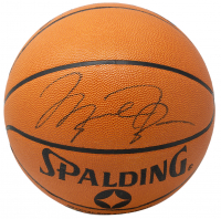 Michael Jordan Signed NBA Basketball WIth Display Case (UDA Hologram) at PristineAuction.com