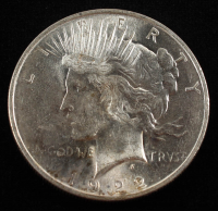 1922 Peace Silver Dollar at PristineAuction.com