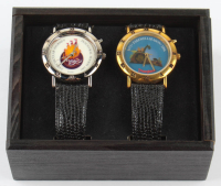 Lot of (2) Vintage Disneyland LE Commemorative Watches at PristineAuction.com