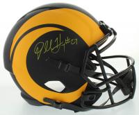 Darrell Henderson Jr. Signed Rams Eclipse Alternate Full-Size Speed Helmet (Beckett COA) at PristineAuction.com