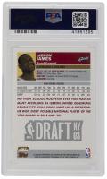 LeBron James 2003-04 Topps #221 RC (PSA 10) at PristineAuction.com