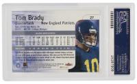 Tom Brady Signed 2000 Impact #27 RC (PSA 9) at PristineAuction.com