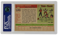 Sandy Koufax 1955 Topps #123 RC (PSA 6) at PristineAuction.com