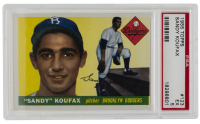 Sandy Koufax 1955 Topps #123 RC (PSA 5) at PristineAuction.com