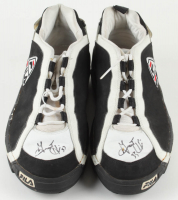 Grant Hill Signed Game-Used 1996 Pair of Fila Shoes (JSA LOA & Grey Flannel LOA) at PristineAuction.com