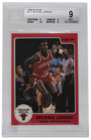 Michael Jordan 1985-86 Star #117 (BGS 9) at PristineAuction.com