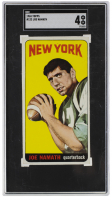 Joe Namath 1965 Topps #122 SP RC (SGC 4) at PristineAuction.com