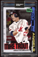 Mike Trout 2020 Topps Project 2020 #85 / Jacob Rochester (Project 2020 Encapsulated) at PristineAuction.com