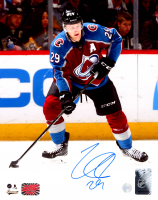 Nathan MacKinnon Signed Avalanche 8x10 Photo (YSMS COA) at PristineAuction.com