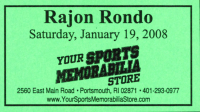 Rajon Rondo Signed Celtics 8x10 Photo (YSMS COA) at PristineAuction.com