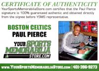 Paul Pierce Signed Celtics 8x10 Photo (YSMS COA & JSA SOA) at PristineAuction.com