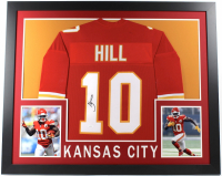 Tyreek Hill Signed 35x43 Custom Framed Jersey (JSA COA) (Imperfect) at PristineAuction.com