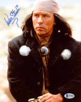 """Wes Studi Signed """"Dances with Wolves"""" 8x10 Photo (Beckett COA) at PristineAuction.com"""