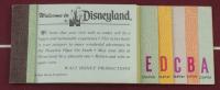 "Disneyland ""Fly TWA Los Angeles"" 15x25 Custom Framed Poster Display with Vintage Flip Book & Vintage Ticket Book at PristineAuction.com"