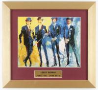 "LeRoy Neiman ""The Beatles"" 13x14 Custom Framed Print Display at PristineAuction.com"