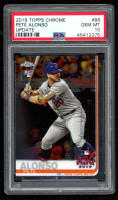 Pete Alonso 2019 Topps Chrome Update #86 All Star (PSA 10) at PristineAuction.com